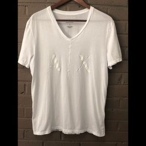 Armani Exchange Tight fit V neck T shirt  L